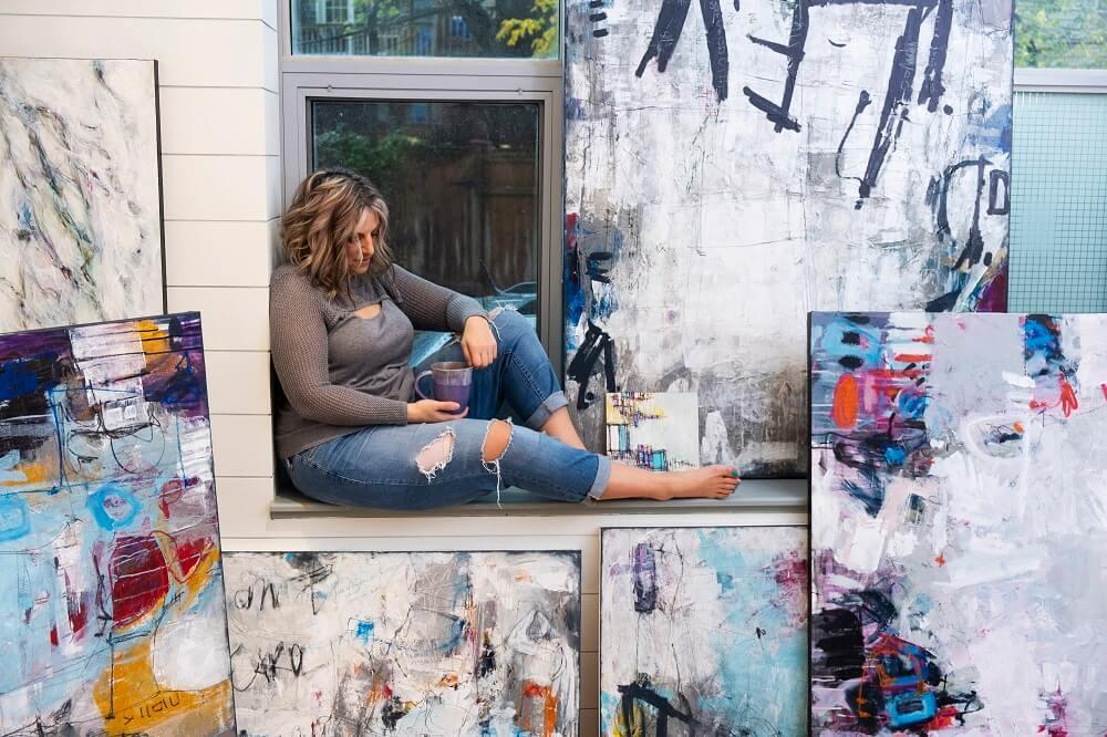 Toronto Abstract Artist. Canada