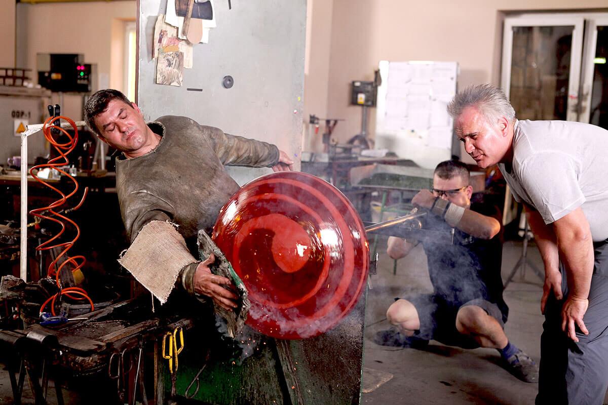 Borowski Glass - Glass Blowing