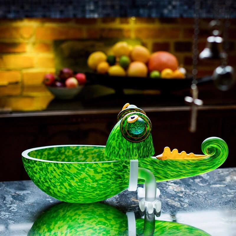Borowski Glass - Green Glass